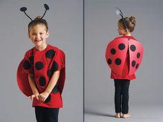 ladybug crafts | Take a look at a larger image of the finished ladybug costume.