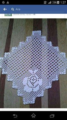 Crochet Diagram, Diy And Crafts, Owl, Rugs, Artwork, Tutorial Crochet, Towels, Placemat, Crochet Edgings