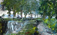Jack Butler Yeats (1871-1957) -The Overflow of the Canal, 1942
