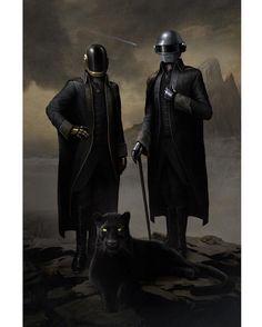 Daft Punk Starboy Painting « Kanye West Forum