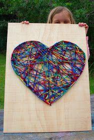 Kids Craft Idea - String Art