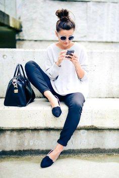 Flats o balerinas de moda