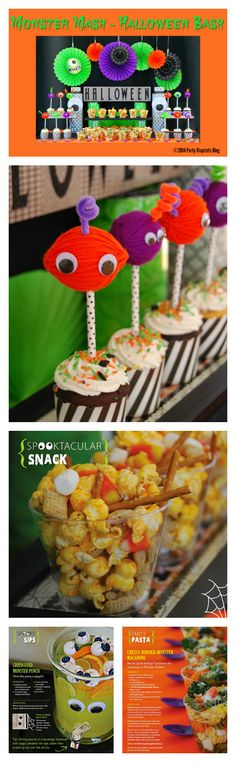 Hairy not Scary Halloween Monster Mash Party Ideas!    The Party Bluprints Blog