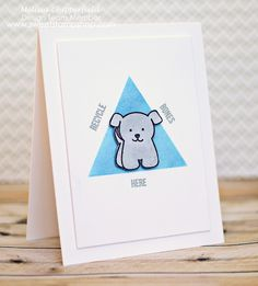 """Adorable dog card using Sweet Stamp Shop's """"Doggy Dog"""""""
