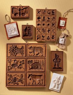 House on the Hill, Inc., Springerle and Speculaas Cookie Molds for Baking, Crafting, Decorating