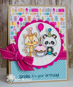 A Cute Stack Your Next Stamp #2683 NEW  --