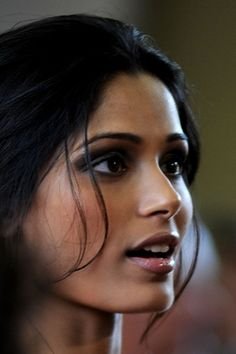 Freida Pinto; easily one of the most beautiful women I've ever seen