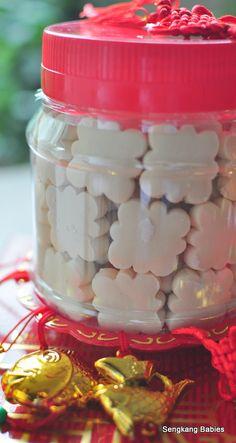 chinese new year cookies - kueh bangkit