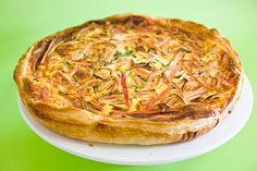 Tarte de Delicias do Mar e Alho Francês | SaborIntenso.com