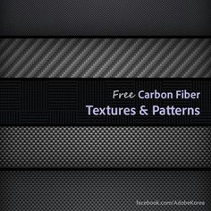 Collection of High Quality yet Free Carbon Fiber Textures/Patterns for Designers