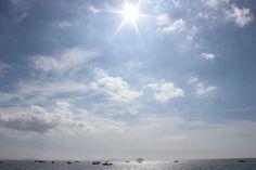 궁평항바다