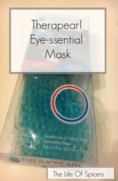 Caring For Your Eyes - Therapearl Eye mask