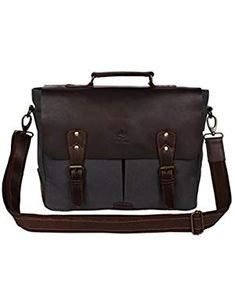 Rustic Town Leather Messenger Bag for Men Women Travel Work ~ Carry Laptop Computer Books ~ Everyday Office College School Satchel 15 inch Best Handbags, Fashion Handbags, Computer Books, Messenger Bag Men, Laptop Computers, Laptops, Image Link, Shoulder Bag, Laptop
