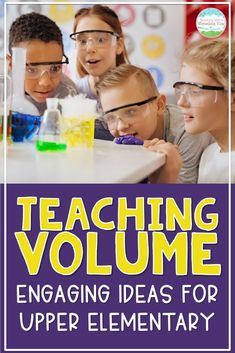 Are you teaching about volume in your 5th grade math lessons? I incorporate these hands-on volume activities to engage my students and help them build meaningful connections to our math lessons. Take a peek fifth-grade teachers! 5th Grade Teachers, 5th Grade Classroom, Middle School Classroom, 5th Grade Math, Middle School Science, Elementary Science, Science Classroom, Teaching Science, Upper Elementary