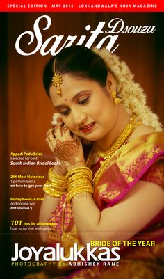 Pls don't take Bride of the year seriously....its just a fake poster for bride ;) ...Photography by Abhishek Rane Photography