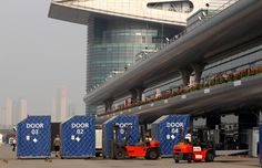 Round 3, UBS Chinese Grand Prix 2013, Post Race, Freight Ready For Shipping To Bahrain