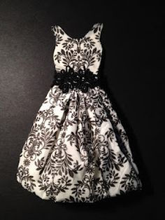 Miniatura - vestido guardanapo