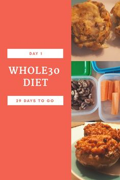 Day 1 of my whole30 challenge Breakfast: egg-muffins with mushrooms, green onions and bacon Snacks: carrots and nuts (walnuts and almonds) Lunch: mushrooms filled with bolognai ragout  Feelings: I did not feel anything different yet. I went to yoga today as well and could perform the motions as any other day