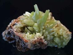 Pyromorphite xx from China Rocks And Minerals, Healing Stones, Stone Jewelry, China, Gemstones, Crystals, Food, Minerals, Gems