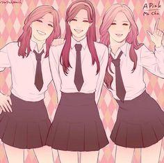 APink EunJi, NaEun and BoMi