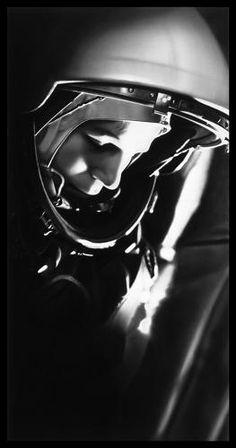 <p><em>Untitled (Cosmonaut Tereshkova, First Woman in Space)</em>, 2015, Robert Longo</p>