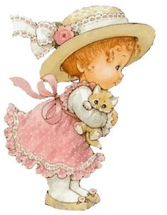 Printable - Hat and Cap - Ruth Morehead Cute Images, Cute Pictures, Sarah Key, Holly Hobbie, Baby Art, Cute Illustration, Vintage Pictures, Vintage Children, Cute Drawings