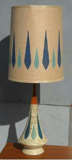 Amazing mid century lamp.