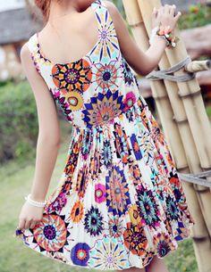 Floral Print Sundresses