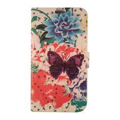 Θήκη Samsung Galaxy Core 2 (G355) Rhinestone Wallet - Flowers               Δώστε ένα ιδιαίτερο στυλ και ταυτόχρονα προστατέψτε την συσκευή σας με  α&upsilon...