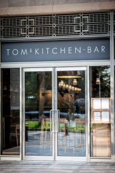 Tom's Kitchen Bar at Canary Wharf British Restaurants, Fish Salad, Snack Bar, Hot Pot, Fish Dishes, Fine Dining, Craft Beer, Toms, London