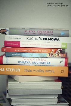 Książki kulinarne – moje nowości
