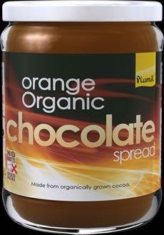Επάλειμμα Σοκολάτας / Πορτοκάλι (χ. γλουτένη) - 275γρ Chocolate Spread, Organic Chocolate, Nutella, Cocoa, Salsa, Orange, Desserts, Tailgate Desserts, Deserts