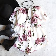 - fully lined - suggested to wear nude/dark color undergarments - 100% polyester - white base with pink floral design - strapless - elastic bust and waist - imported; by reverse