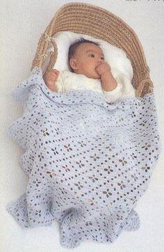couverture bébé 'modèle gratuit à télécharger'