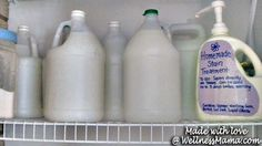 Homemade Natural Laundry Soap Tutorial