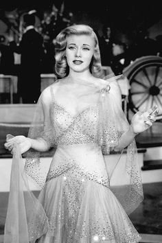 Todays hair & make up inspiration from Ginger Rogers