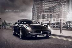 Black Ferrari Wallpaper High Definition #h5j