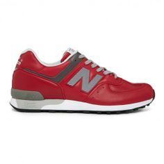 New Balance Made In The Uk M576Red M576RED Sneakers — Sneakers at CrookedTongues.com