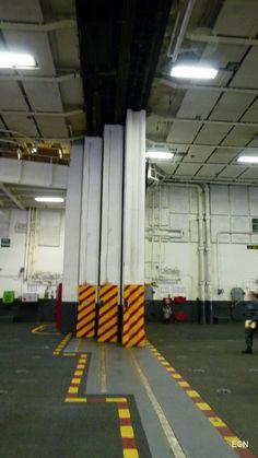 BAD! (big ass door) on the USS Carl Vinson CVN-70