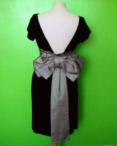 Betty Carol Vintage 50s Black Velvet and by MillerAndCampbell, $48.00