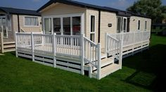 Fensys lodge - park home - static caravan - holiday home decking