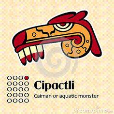 Symbole aztèque Cipactli