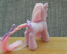 Cotton Candy | G3 Custom Pony | G1 My little Pony Custom | Custom MLP | My little pony rehair | MLP before FIM | Glow in the Dark