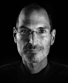 Portrait: Steve Jobs, co-founder and former CEO of Apple | by Marco Grob