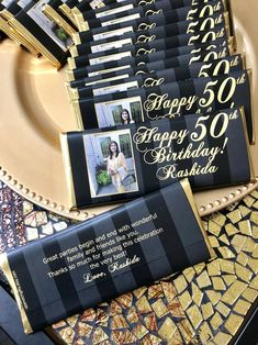 birthday favors, birthday party, black and gold party, birthday favors, 50 and fabulo Moms 50th Birthday, 70th Birthday Parties, Surprise Birthday, 50th Birthday Balloons, 50th Birthday Themes, 50th Birthday Wishes, 50th Birthday Party Decorations, 50th Party, 40th Birthday Party Ideas For Women