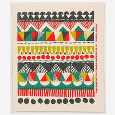 Today's posts are all about paying tribute to the amazing work of Sanna Annukka for Marimekko . We start with one of Sanna's latest prints. Textile Prints, Textile Design, Textures Patterns, Print Patterns, Scandinavian Folk Art, Pattern Illustration, Marimekko, Book Crafts, Surface Pattern