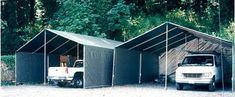1000 images about do it yourself portable carport for Boat garage kits