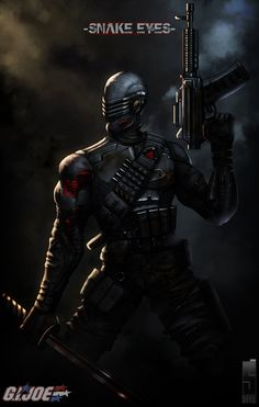 Snake eyes by  watching TV every Saturday when I was a kid oh the childhood memories