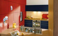 Schüller Biella Kitchen - Schuller by Artisan Interiors Kitchen Cabinet Colors, Kitchen Cabinetry, Kitchen Colors, Kitchen Design, Kitchen Ideas, Colorful Kitchen Decor, German Kitchen, Beautiful Kitchens, Innovation Design