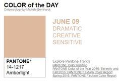 ...y el color de hoy es Luz Ámbar, un color dramático, creativo, sensible. Más info en http://www.pyma.com/tutoriales-y-trucos/y-los-colores-pantone-de-esta-semana-sonsemana-del-6-al-12-de-junio/